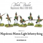 New: Napoleonic Nassau Light Infantry firing