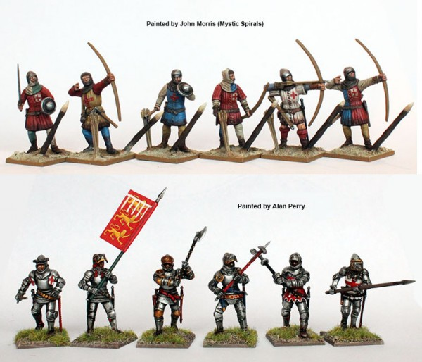 Archers and maa painted