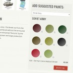 Webstore: Suggested Paints