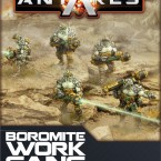 New: Boromite Work Gang, Lavamites and Mag Light Support