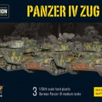 New: Panzer IV Zug plastic boxed set