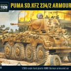 New: Puma Sd.Kfz 234/2 Armoured Car plastic box set