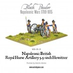 New: Napoleonic British Royal Horse Artillery 5.5-inch Howitzer
