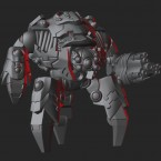 3D Renders: Ghar battle suits