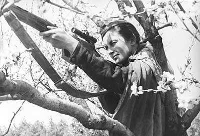 Lyudmila Pavlichenko Soviet Female Sniper