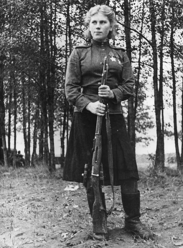 Roza Georgiyevna Shanina Soviet Female Sniper