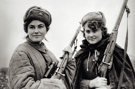 Russian Female Snipers