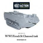 New: WWI French St Chamond Tank