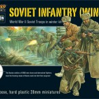 New: Soviet Infantry (Winter) plastic boxed set