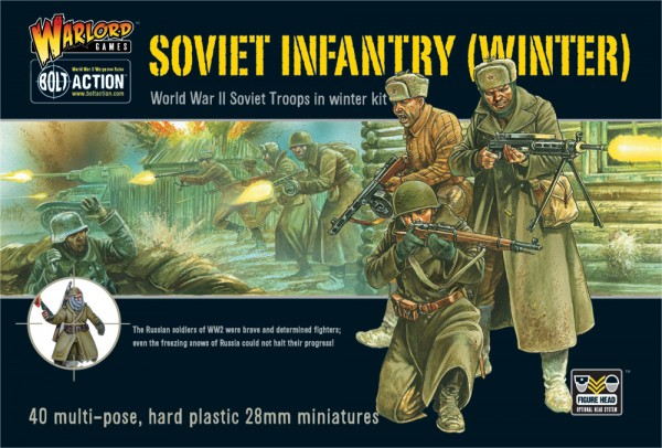 WWII SOVIET INFANTRY Italeri 15602