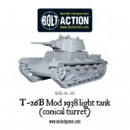New: T-26B Mod 1938 light tank