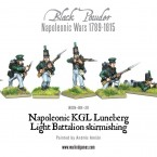 New: KGL Luneberg Light Battalion skirmishing