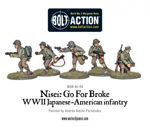 Spotlight: Buffalo Soldiers and Nisei - Warlord Games