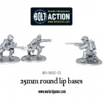 New: 25mm and 60mm Lipped Bases!