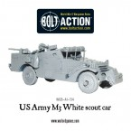 New: US Army M3 White Scout Car
