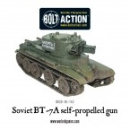 New: Soviet BT-7A Self-Propelled Gun