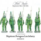 Work in Progress: Napoleonic Portuguese plastics!