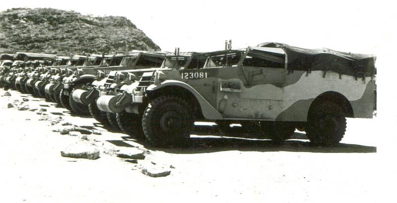 History: M3 White Scou...