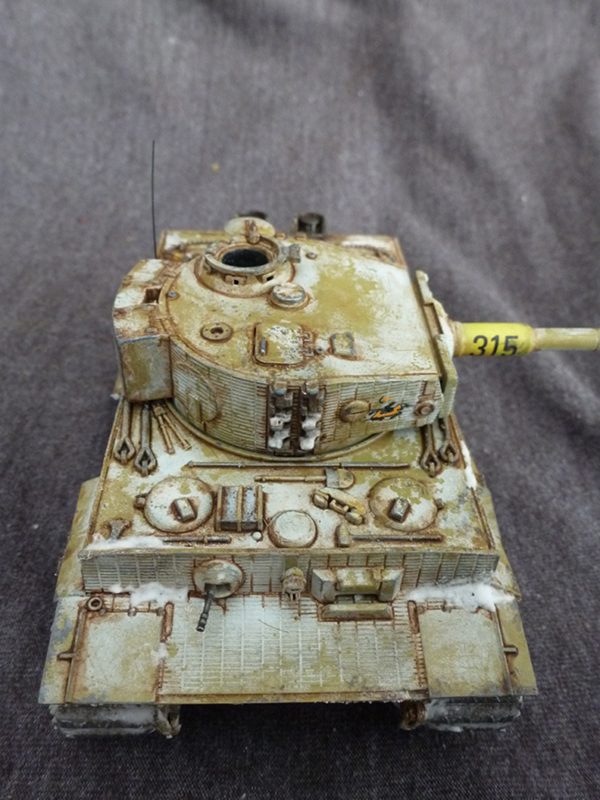 Painting: How to apply Winter Whitewash to your Bolt Action vehicles