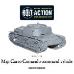 New: M41 Carro Comando command vehicle