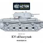 New: Soviet KV-1E heavy tank & KV-8 flamethrower tank