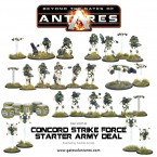Updated: Concord Strike Force Starter Army