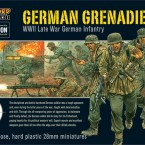 Shipping Now: German Grenadiers Plastic Set