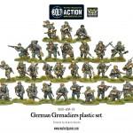 German Grenadiers Models