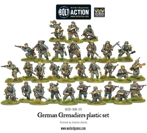 German Grenadiers Models