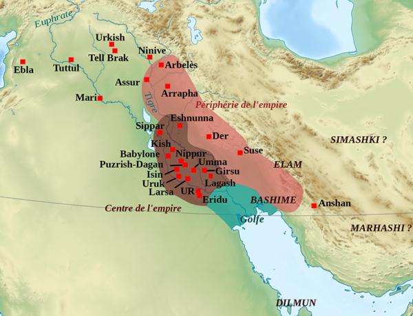 Neo Sumeria Map