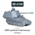 New: Marder I Tank Destroyer