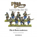 New: Pike & Shotte Musketeers and Armoured Pike Block