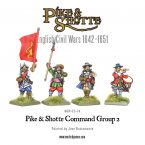 New: Pike & Shotte Storming Party Musketeers and Command Group