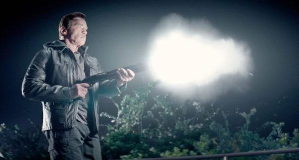 Arnie with Shotgun