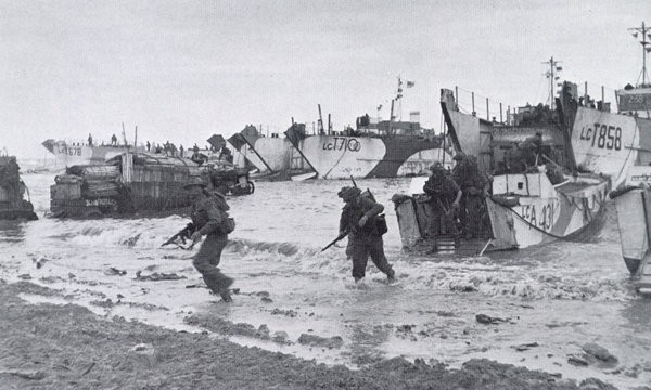47cdo landing Normandy