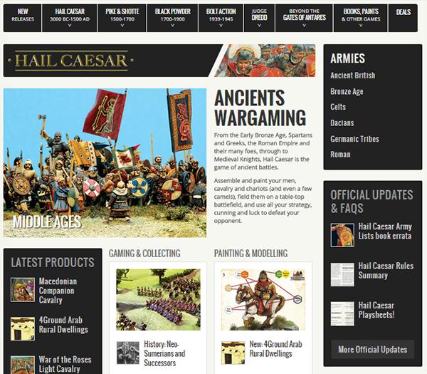 Hail Caesar Page