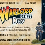 Warlord Games Day 2015 – Tickets on Sale!
