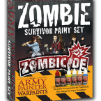New: Army Painter Zombicide Zombie Survivor Paint Set
