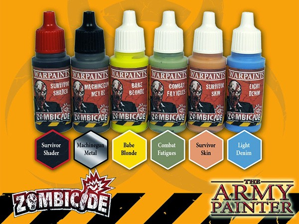 Zombicide Survivor Paint Set2