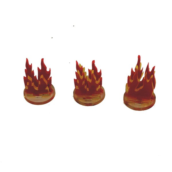 3x1 Fire Markers
