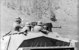 Russland, Schützenpanzer »Div. Großdeutschland«
