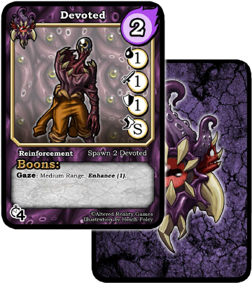 Gods and Monsters Card
