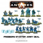New: Beyond the Gates of Antares – Freeborn Starter Army