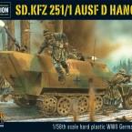 New: Sd.Kfz 251/1 ausf D Hanomag Plastic Kit