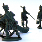 New: Plastic French Napoleonic Artillery 1804 to 1812