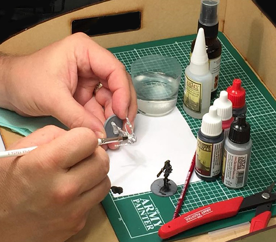 Terminator Painting Set up