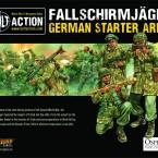 Pre Order: Fallschirmjager Starter Army