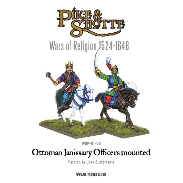 WGP-OT-50-Janissary-Officers-Mounted-a