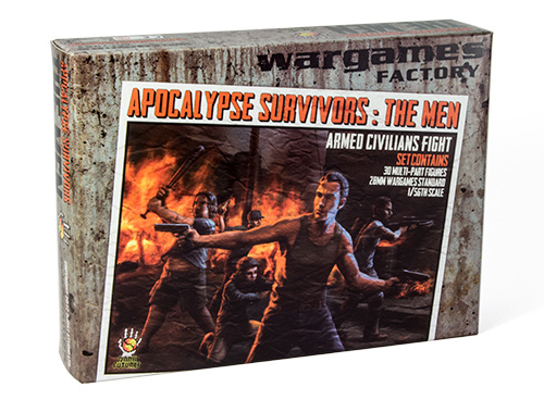 Wargames Factory APocalypse Survivors the Men