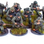 Hobby: Painting a 10 man squad of Grenadiers